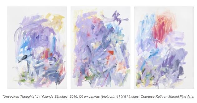 Yolanda Sánchez: A Surprising Path to Painting
