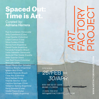 SPACED OUT: TIME IS ART